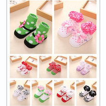 0-12M Baby Girls Lace Socks Baby Antislip Socks Infant Socks chaussette calcetines meias infantil recem nascido skarpetki