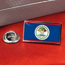 High quality and low price  Belize Flag Lapel Pin Badge / metal Tie Pin hot sales custom country flag lapel pin FH68009 high quality and low price bulgaria flag lapel pin badge tie pin custom metal craft country flag lapel pin fh68002
