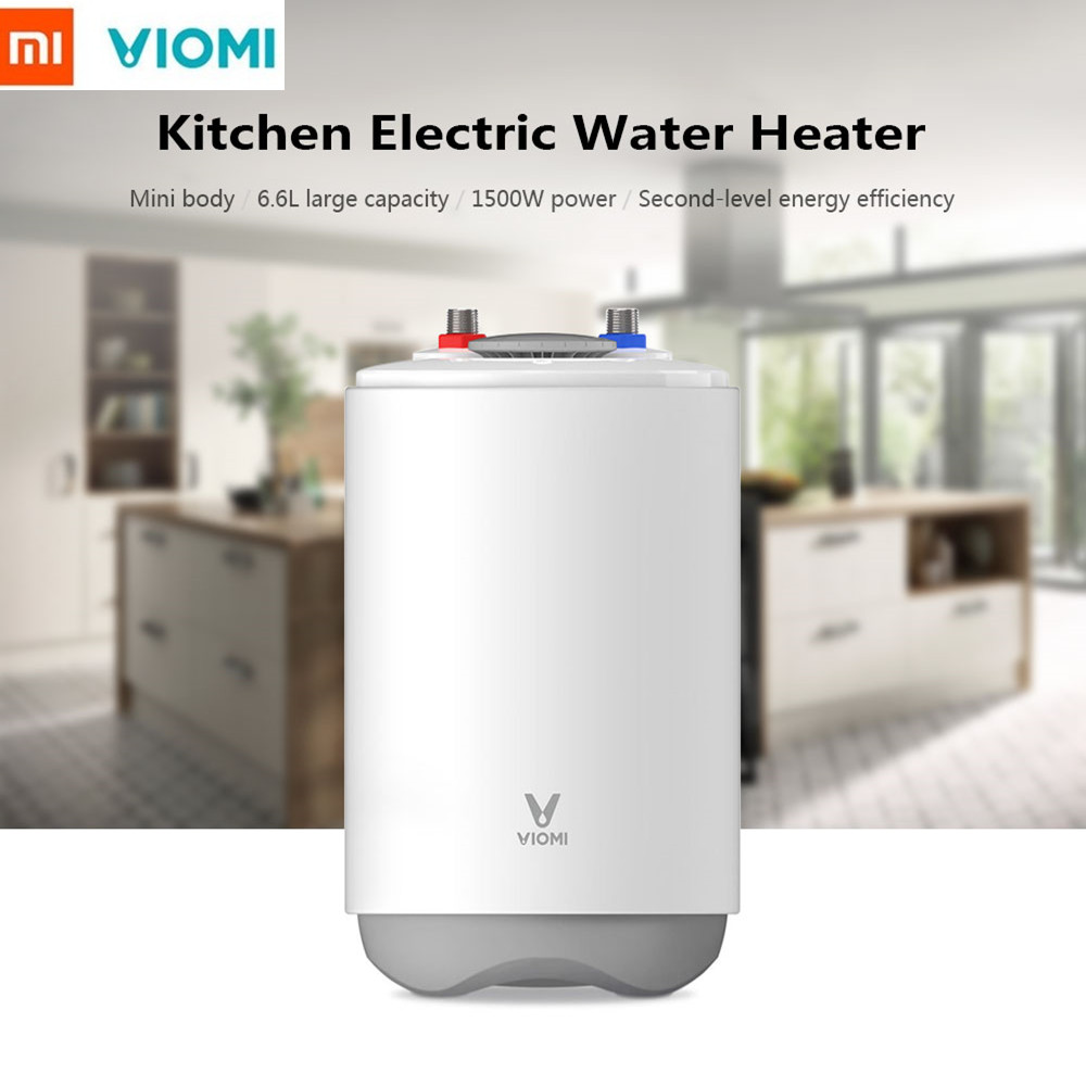 VIOMI DF01 Portable Electric Water Heater For Kitchen Bathroom 6.6L 1500W Portable Water Heater Home Water Heater