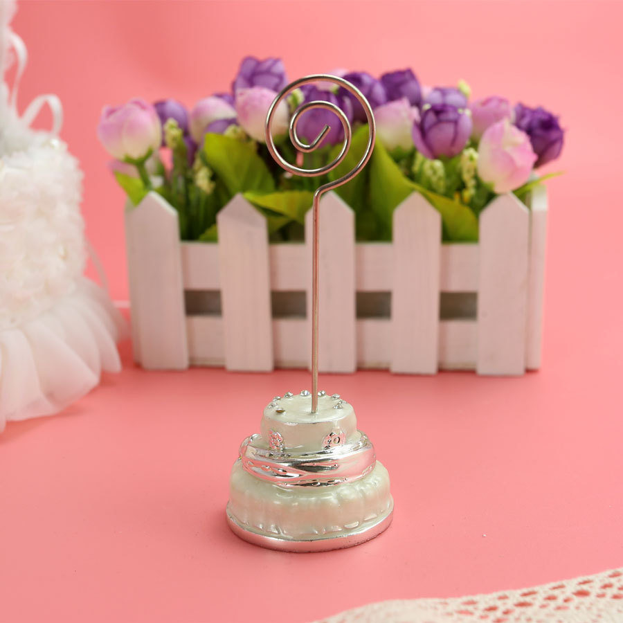 Gorgeous cake base wedding table place card holder Party Birthday ...