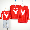 2016 Family Matching Clothes Hoodies Mother Son Outfits Mommy and Me Sweatshirts Long Sleeve Mom Daughter Family Clothing MB046