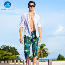 Gailang Brand Beach Board Shorts Boardshorts Men's Short Bottoms Summer Swimwear
