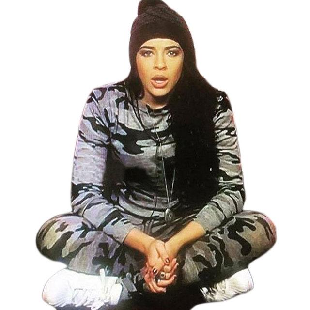 Inverno Calças Compridas + Hoodies Sweater terno 2 PCs Mulheres Ao Ar Livre Tático Militar Camuflagem Treino Sportwear Pullovers Inferior