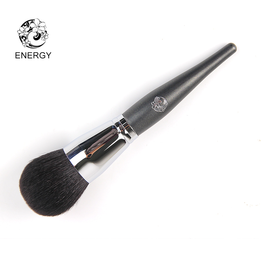 ENERGY Brand Goat Hair Large Round Buffing Powder Brush Make Up Makeup Brushes Pinceaux Maquillage Brochas Maquillaje M203 energy brand weasel small eyeshadow contour brush make up makeup brushes pinceaux maquillage brochas maquillaje pincel m108