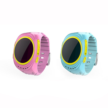 NEW GPS Support SOS Smart Watch For Children Positioning Children like the red and blue can choose