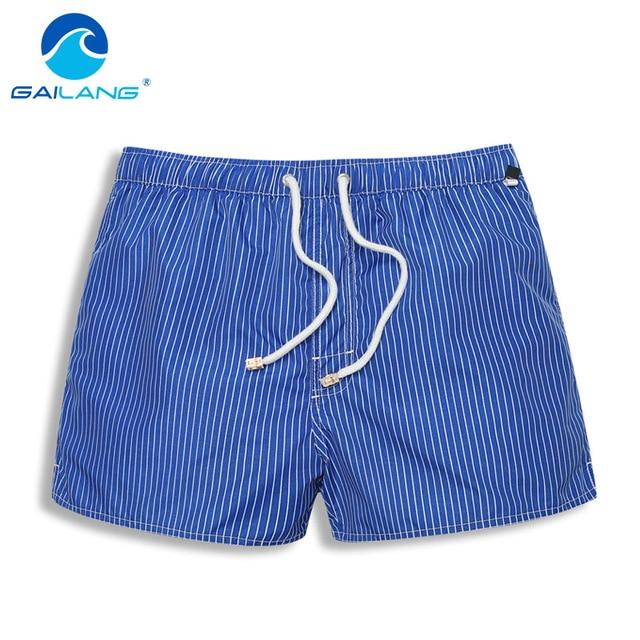 Gailang Brand Men Beach Shorts Board Boxer Shorts Trunks Casual Men's Short Bottoms Swimwear Swimsuits Quick Drying Fashoin