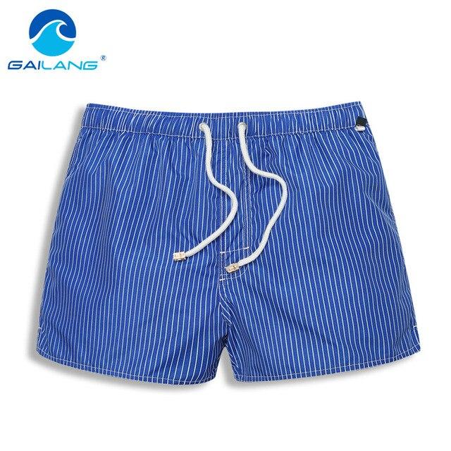 Gailang Marca Hombres Playa Junta Shorts Boxer Shorts Trunks Pantalones Cortos Ocasionales de Los Hombres de trajes de Baño Trajes de Baño de Secado rápido de Fashoin