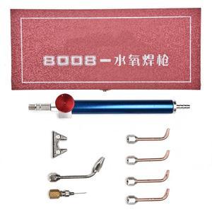 Image 4 - מקצועי חמצן לפיד תכשיטי אצטילן גז לפיד ריתוך הלחמה אקדח עם 5 טיפים עבור בלוני חמצן תכשיטי ביצוע כלי