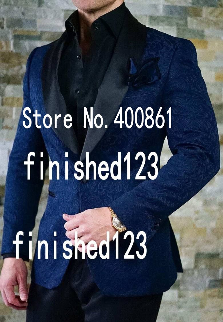 High Quality Ivory Mens Suits Groom Tuxedos Groomsmen Wedding Party Dinner Best Man Suits jacket+pants+bow Tie W:10