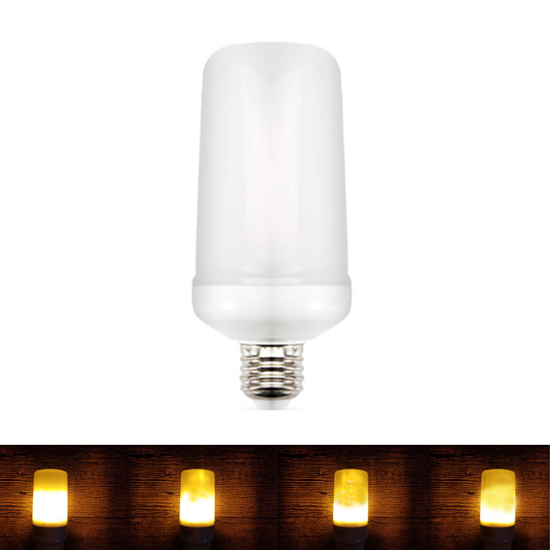 E27 E26 85-265 V LED Flamme Effet Ampoule 2835SMD Lampe De Feu 110 V 220 V Scintillement Brûlant simuler Dynamique Led Lampada