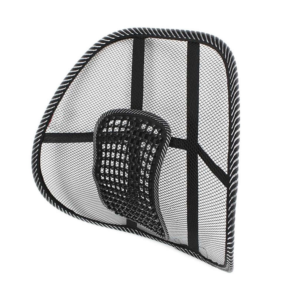 Practical Lumber Comfort Mesh Seat  Back Office Cushion Support Pad Tool*