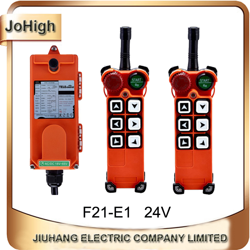 JoHigh качество продукта F21-E1 пуговицы беспроводной подъемник Remte Электрический В 220 В кран дистанционное управление 2 Передатчики + 1 приемник