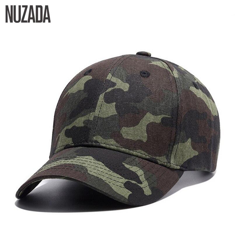 Prix pour Marque nuzada qualité hip hop chapeaux printemps été hommes femmes baseball cap camouflage snapback os de haute qualité coton crème solaire caps