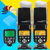 Yongnuo 1 X YN560TX LCD Wireless Flash Controller 2 X YN560 IV Flash Speedlite For Nikon
