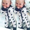 Recém-nascidos Crianças Infantil Bebê Meninas Macio Bodysuit Roupas Macacão de Uma Peça