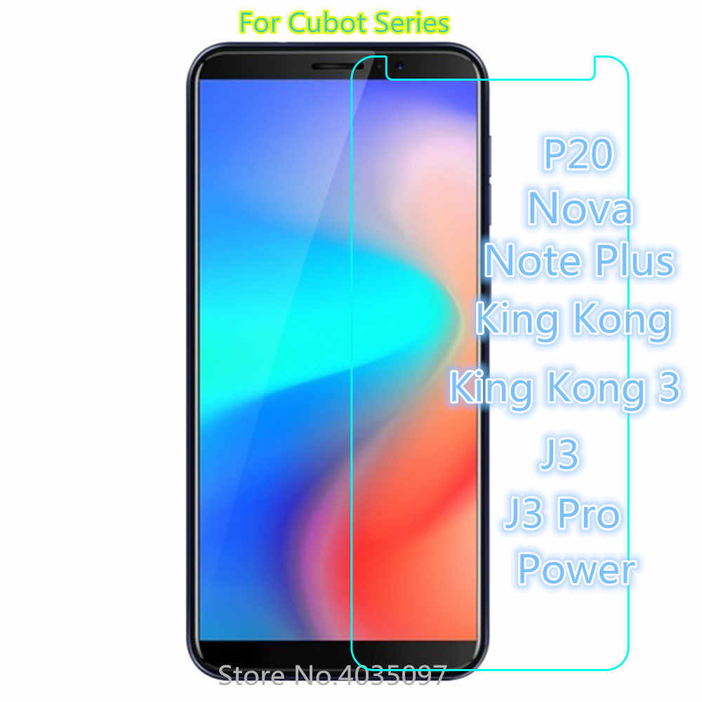 2.5D Tempered Glass Protective Glass Film For Cubot P20 Nova Note Plus King Kong 3 J3 Pro Power Screen Protector
