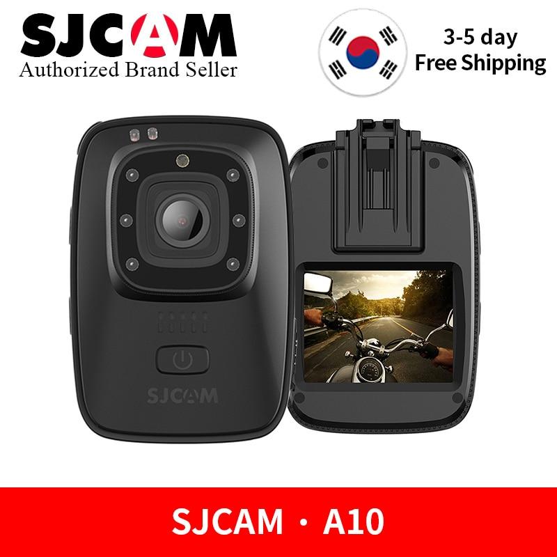 SJCAM A10 caméra portable Portable Corps Cam Infrarouge caméra de sécurité vision nocturne Laser Positionnement WIFI Action Sport Caméra