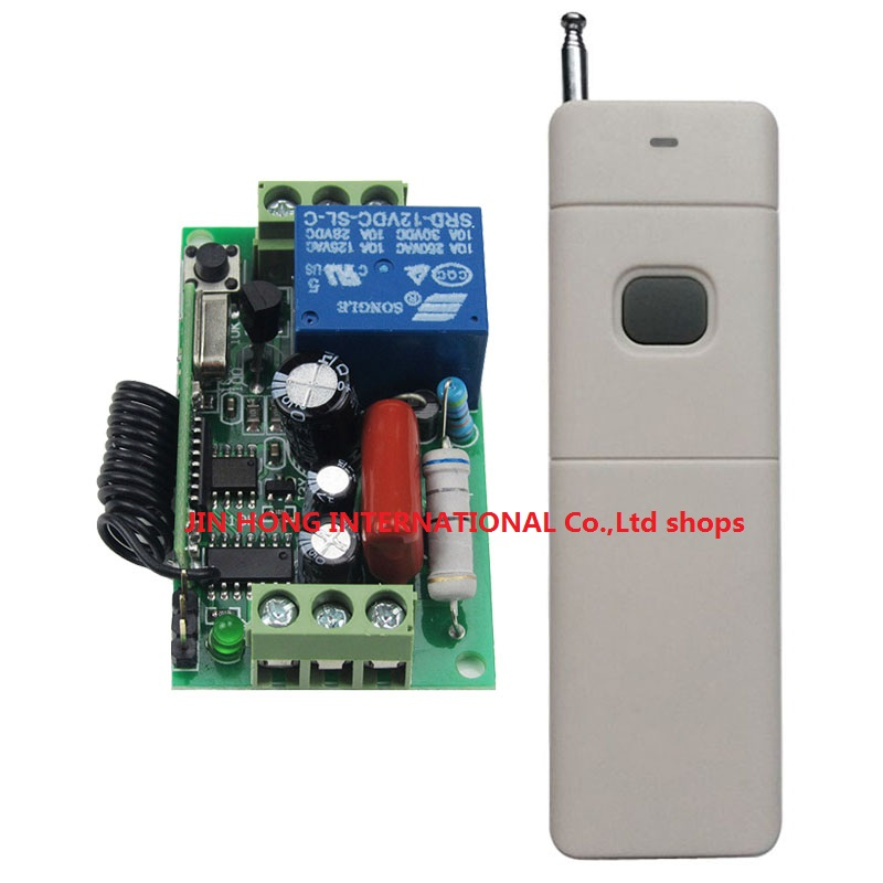 AC220V 10A Wireless Remote Control Switch Long Distance Long Range Transmitter Lamp Light Bulb Motor Remote ON OFF 315/433MHZ small ac220v remote control switch long range transmitter receiver 200 3000m lamp light led remote lighting switch 315 433 92mhz