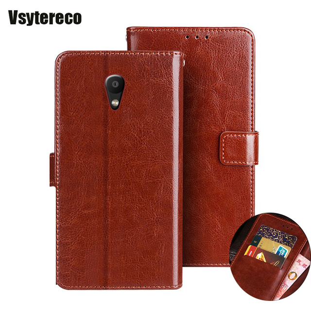 Wallet Case for Meizu M8C Flip Leather Cover on M810 M810H M810L Kickstand Protective Cover for Meizu M8C M 8C Phone bag Cases