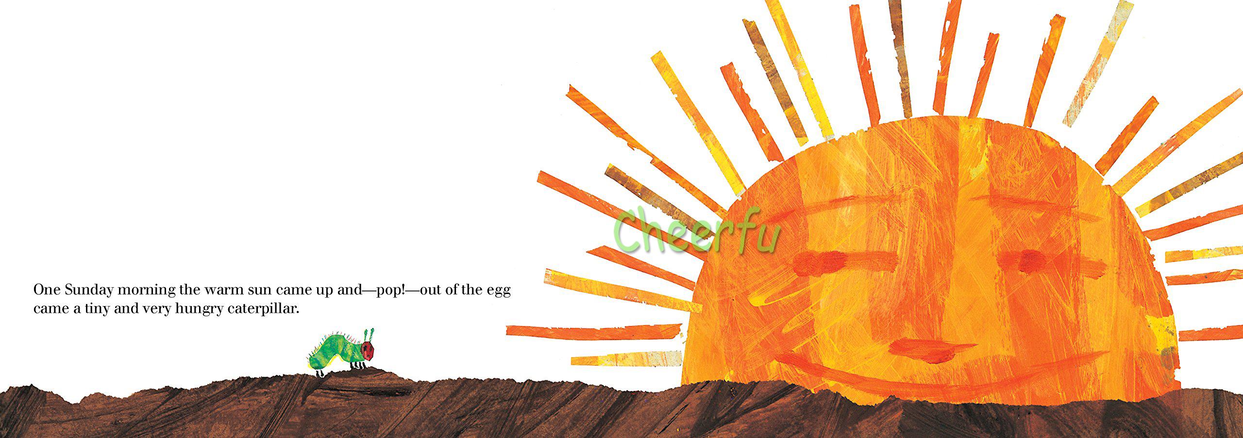 La Oruga Muy Hambrienta por Eric Carle educativo inglés libro ...