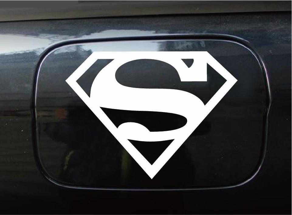 Cool Superman Logo Vinyl Auto Sticker Cartoon Superheld Auto Decal