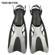 Ласты для плавания для взрослых регулируемые плавающая лягушка обувь силиконовые Professional Dive Team Открытый Дайвинг подводное плавание длинные Дайвинг ласты