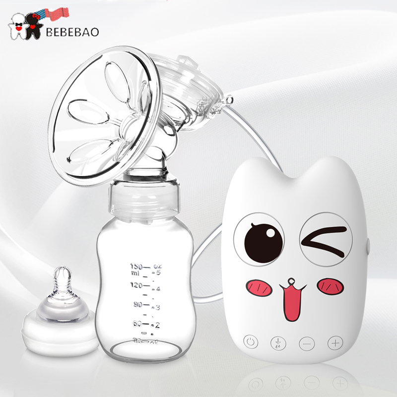 New Arrival 2020 USA Brand High Intelligence Good Breast Pump Postpartum Breast Milk Nipple Suction Breast Electric Breast Pumps