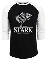 Game Of Thrones House Stark T Shirts For Men Shirt An Ice Song And The Winter