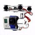 Куп 2 осей металла бесщеточной карданный ж / контроллер для GoPro 3 4 SJ4000 камеры джи фантом 1 2 Walkera qr-x350 Pro