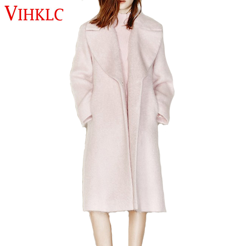 Popular Light Pink Wool Coat-Buy Cheap Light Pink Wool Coat lots ...