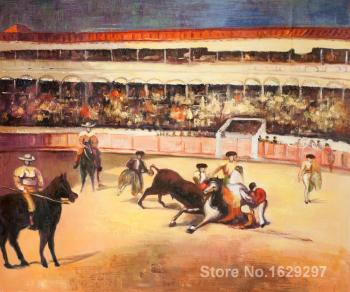 Portrait Painting Bullfight by Edouard Manet Canvas High quality Hand painted