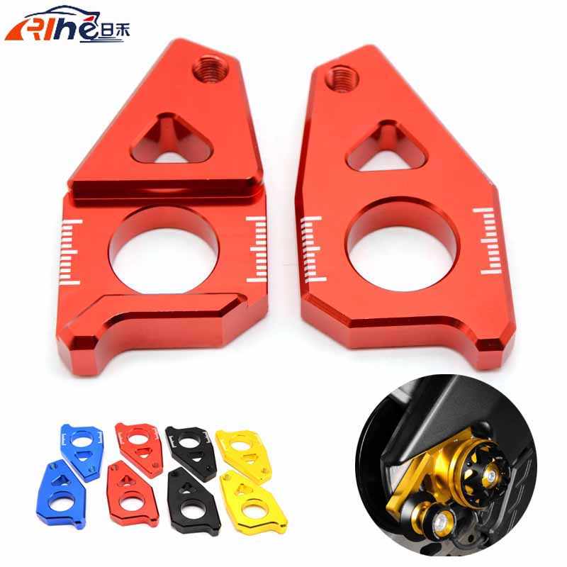 motorcycle chain adjuster regulator chopper bike For Yamaha TMAX 530 2012-2015 FZ8 2012-2015 FZ1 2006-2015 YZF R1 2005-2015