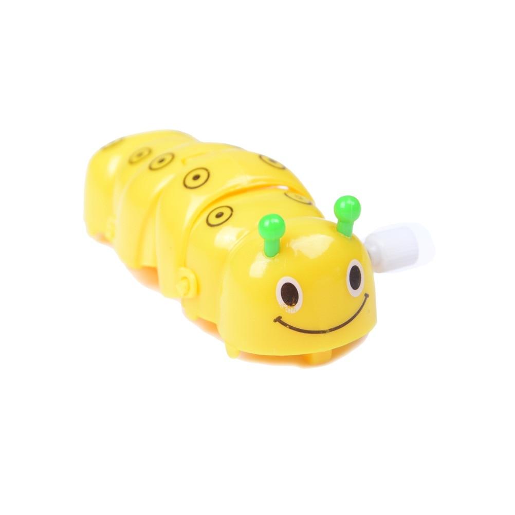 Children Clockwork Spring Toy Green Plastic Cartoon Creeping Insect Toys & Hobbies