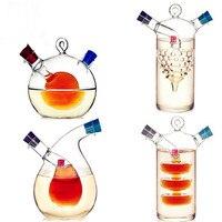 High Temperature Spice Bottle Oil And Vinegar Galss Bottle Bins Sauce Glass Jar Sealed Seasoning Small