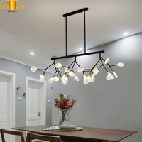 REVEN New design acrylic Modern Chandeliers, lamps G4 LED lamp Chandelier Ceiling lamp Bedroom Chandelier light Firefly
