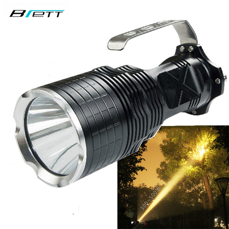 Powerful led flashlight xm l2 Yellow light 5000 lumens Outdoor Hunting professional lampe torche