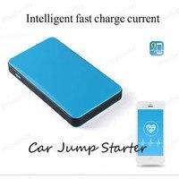 Mini Portable Car Jump Starter Multi Function Diesel Power Bank Bateria Battery 12V 6000mAh Peak Car