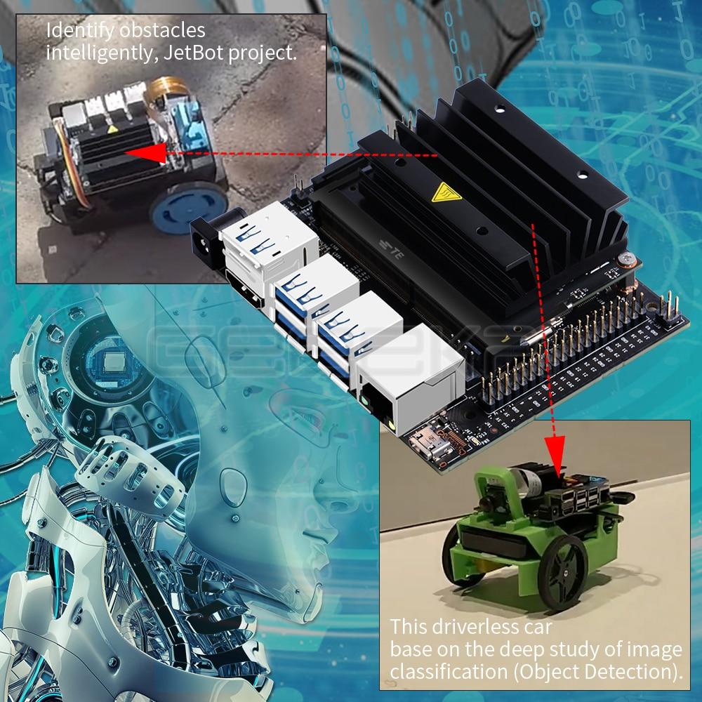 Details about NVIDIA Jetson Nano Developer Kit Module for AI GPU 128-core  CPU ARM A57 64-bit