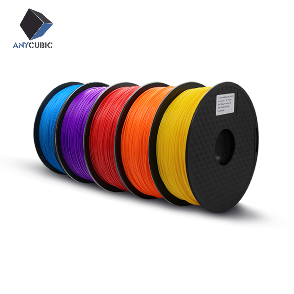 Anycubic 3D printer filament ABS 1 75mm 1kg plastic Rubber Consumables Material with 21 kinds colours