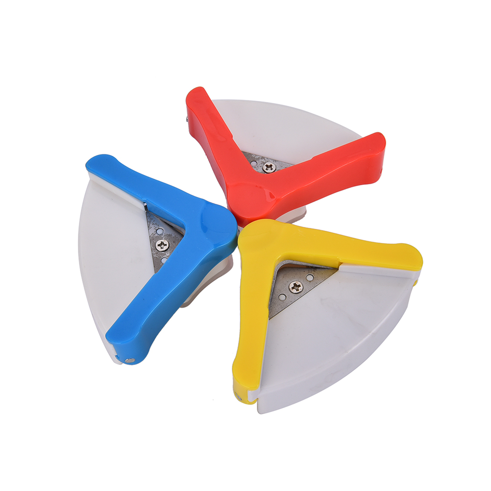 Angle Corner RounderPaper Trimmer PunchCard Puncher Cut ScrapebookingCutter Tool CraftDIY Clipper Round Office Stationery3Colors