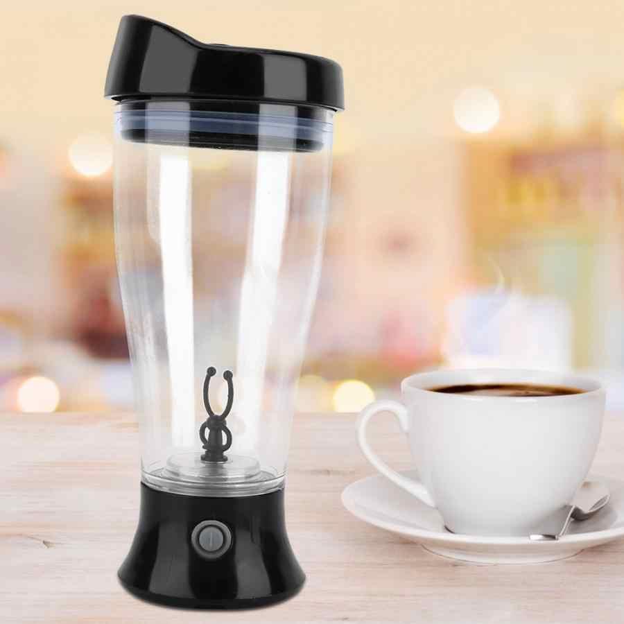 Liquidificador portátil Caneca Agitação Elétrica xícara de Café Automática Copo de Mistura de Água Potável Garrafa de Liquidificador