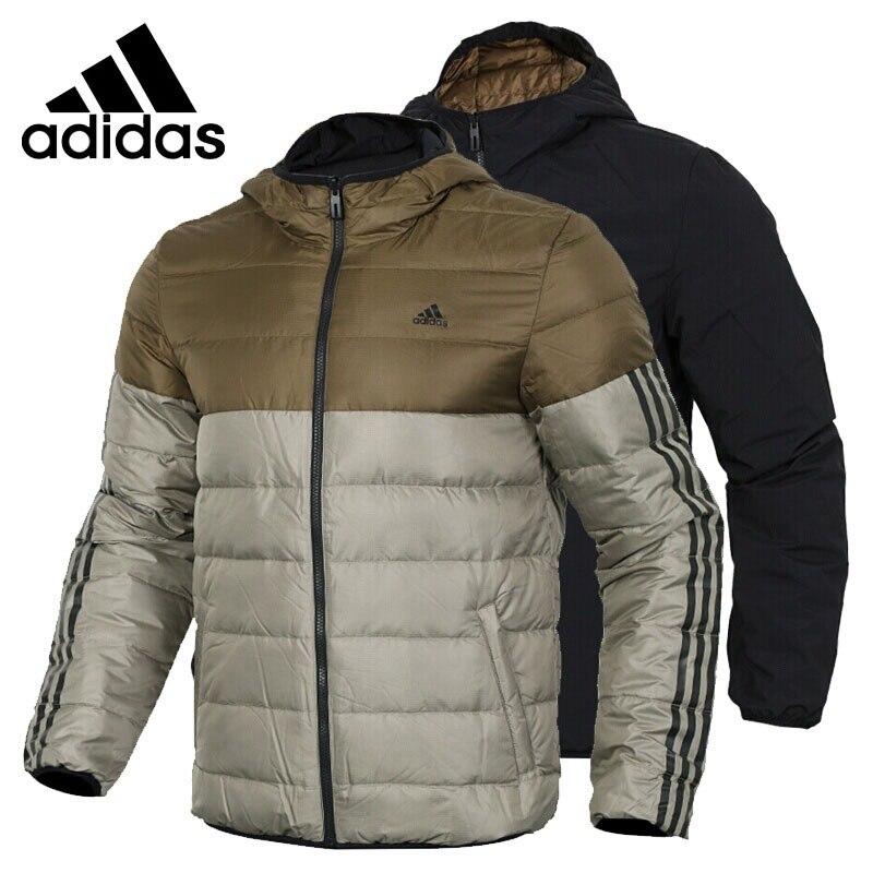 € 167.91 18% de réduction|Nouveauté originale Adidas ITAVIC REV manteau en duvet réversible pour homme randonnée vêtement de sport in Camping et