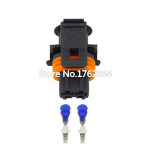 10PCS 2 holes for Bosch Car Series car connector with terminal DJ7026B-3.5-21