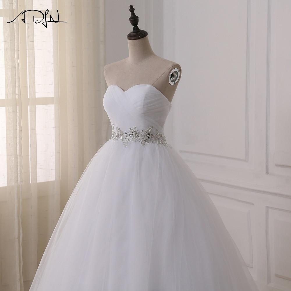 2016 Jaunā dizaina kleita Kāzu svinību kleitas Lace šifons balts - Kāzu kleitas - Foto 4