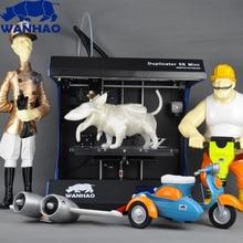 Горячие Продажи Настольных DIY kit 3d-принтер, WANHAO Дубликатор 5 Mini, высокая точность Металлический Каркас Комплект, принтер с свободной нити и ЖК-