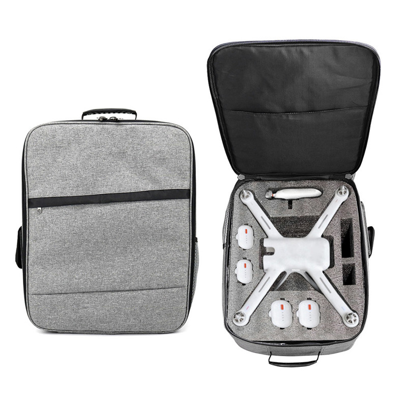 Hot Sale Outdoor Shockproof Backpack Shoulder Bag Soft Carry Bag For XIAOMI Mi Drone 4K 1080P FPV RC Quadcopters #0129 backpack bag easy carry case for yuneec q500 4k q500 typhoon uav special customize quadcopter for aerial drones nylon shoulder