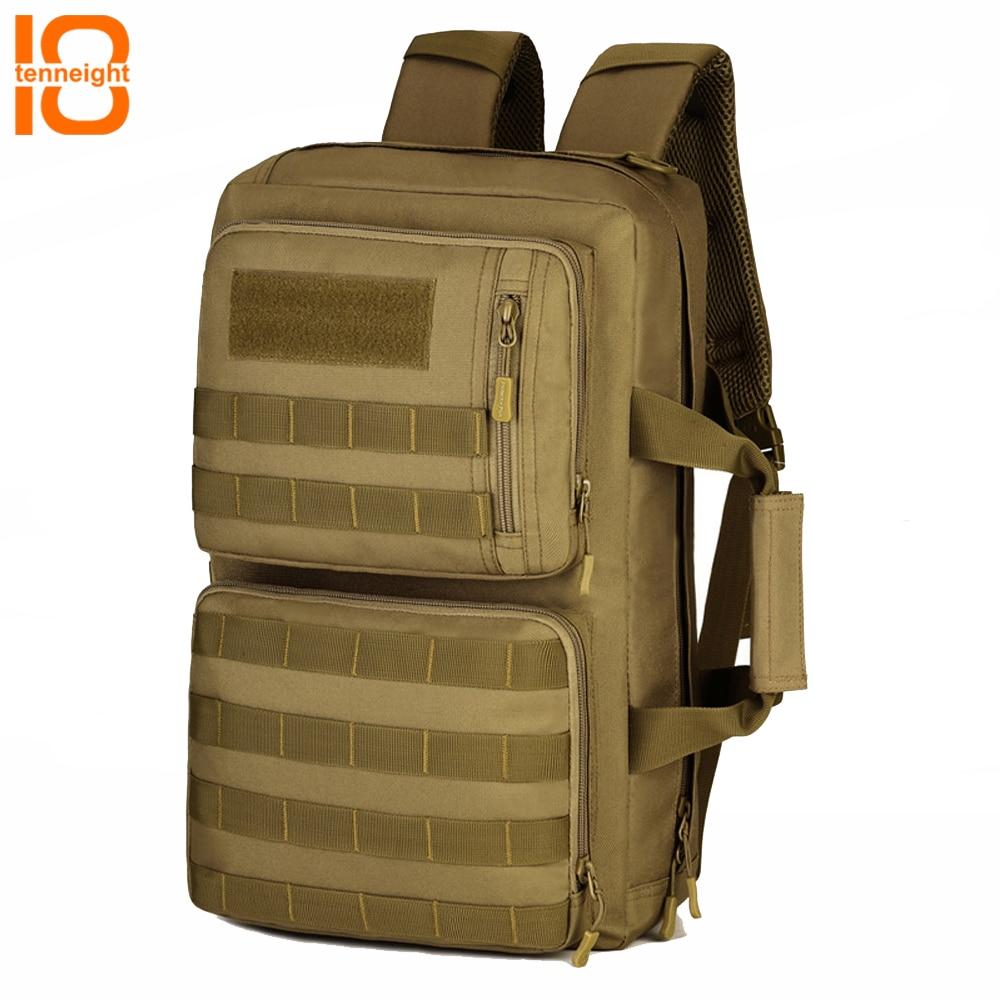 где купить TENNEIGHT 35L Outdoor Military Molle Tactical Backpack computer bag handbag travel Sport Climbing Camping backpack shoulder bag по лучшей цене
