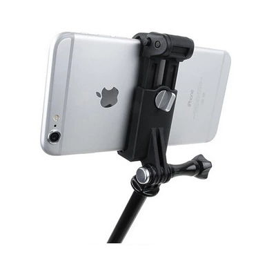 <font><b>Gopro</b></font> Adjustable <font><b>Selfie</b></font> <font><b>Stick</b></font> <font><b>Phone</b></font> Clip Go Pro Accessories Mount Assembly Clip 51-84mm Holder For iPhone 6 7 8 xiaomi samsung