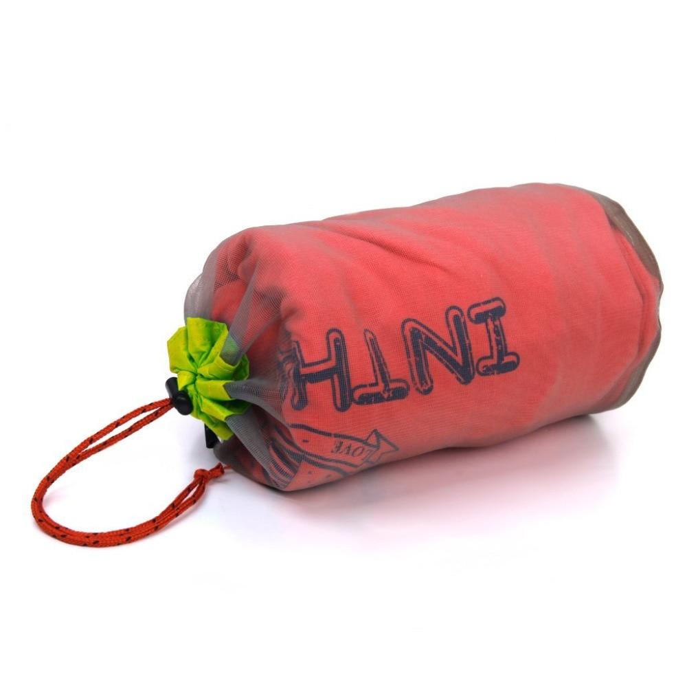 New Arrivals 2015 Ultra Light Mesh Stuff Sack Storage Bag for Tavel Camping Outdoor Travel Bag 34*15cm