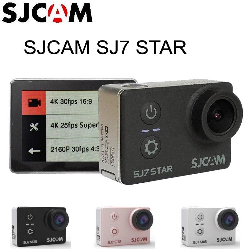 Original SJCAM SJ7 Star 4K 30fps 2 0 Touch Screen Remote Ultra HD Ambarella A12S75 30M